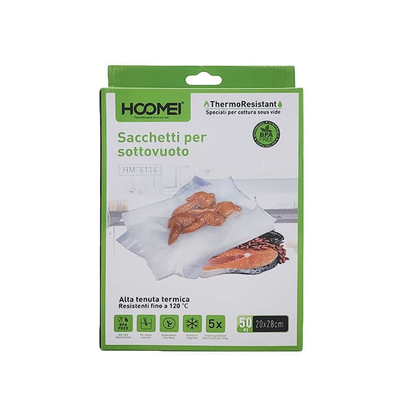 HOOMEI HM-6114 Vrećice za vakumiranje 20x28 cm
